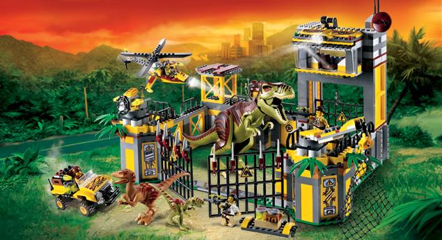 5887 le qg de d fense contre les dinosaures wiki lego fandom powered by wikia - Jeux lego dino ...
