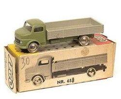 653 Mercedes Open Bed Truck