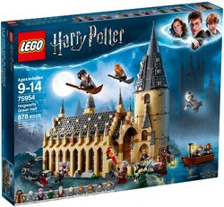 75954 Hogwarts Great Hall Box
