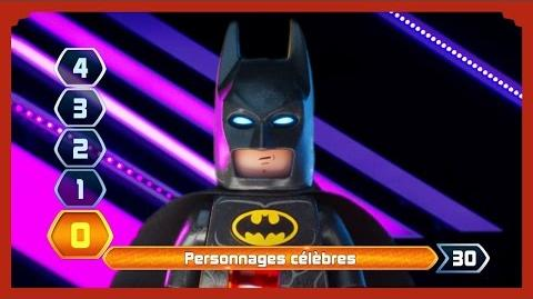 LEGO Batman, le Film - Questions Pour Un Champion !