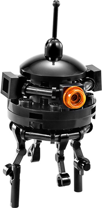 Imperial probe droid brickipedia fandom powered by wikia - Lego star wars vaisseau droide ...