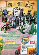 Bricks n Pieces Spring 1988 Robin Hood and Black Knight