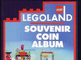 LEGOLAND California Souvenir Coin Album 1st Edition