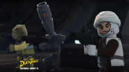 Dengar and his friends in the fight