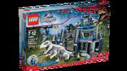 Jurassic World LEGO Indominus Rex Breakout box1