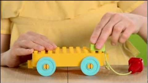LEGO Duplo Designer Video - Toddler Build and Pull Along