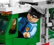 Truck Driver; 76015 Doc Ock Truck Heist