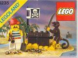Pirat mit Schatztruhe 6235