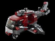 6866 L'hélicoptère de Wolverine 3