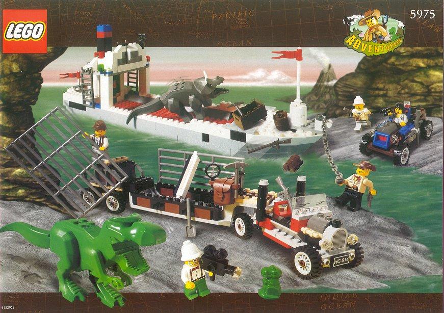 5975 t rex transport brickipedia fandom powered by wikia - Lego dinosaures ...