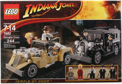 Indy lego 7682