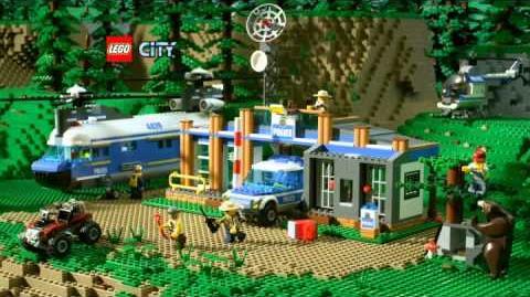 LEGO CITY Thème Police dans la forêt