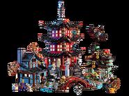 70751 Le temple de l'Airjitzu 2