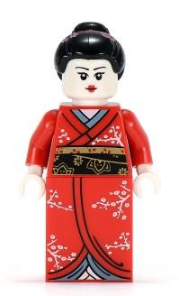Kimono GirL COLLECTIBLE JAPANESE PRINCESS LEGO MINIFIGURES SERIES 4 8804