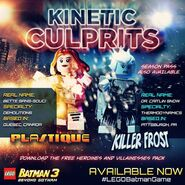 LEGO Batman 3 Heroines & Villainesses Pack Plastique et Killer Frost