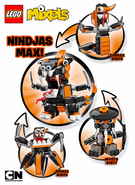 Nindjas Max instructions