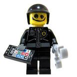 Scribble-Face Bad Cop