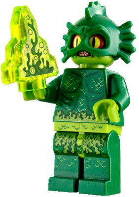 Lego Movie 2 Series Swamp Creature Minifigure