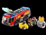 60061 Le camion de pompiers de l'aéroport