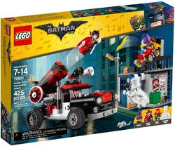 70921 Harley Quinn Cannonball Attack Box