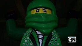 Kai as Green Ninja