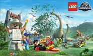 LEGO Jurassic World John Hammond 2