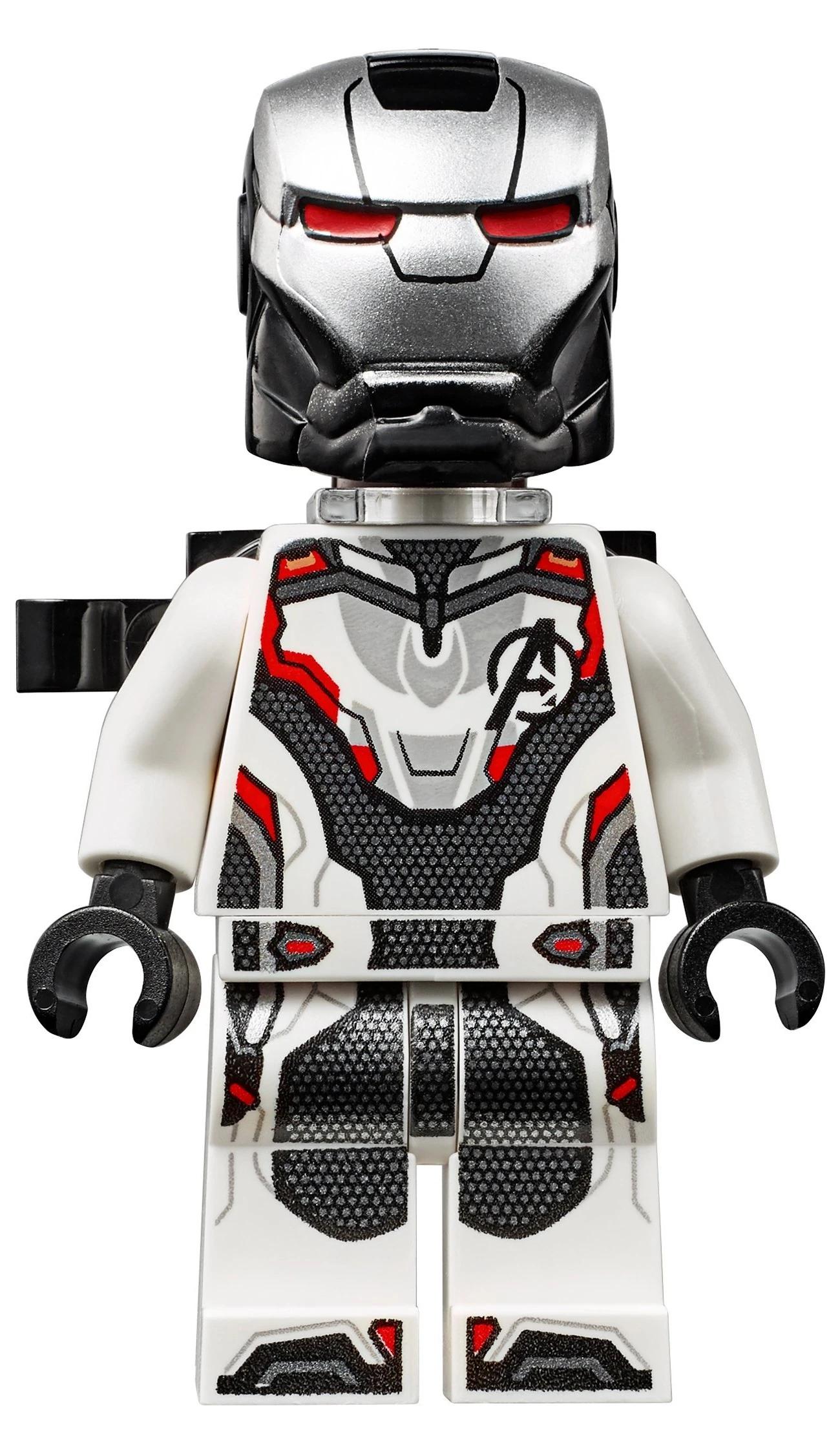 WAR MACHINE Minifigure Helmet /& Visor LEGO 76051 MARVEL Airport Battle