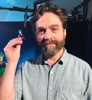 Le Joker Zach Galifianakis