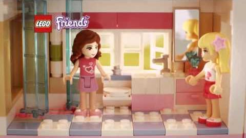 Lego Friends La villa 3315