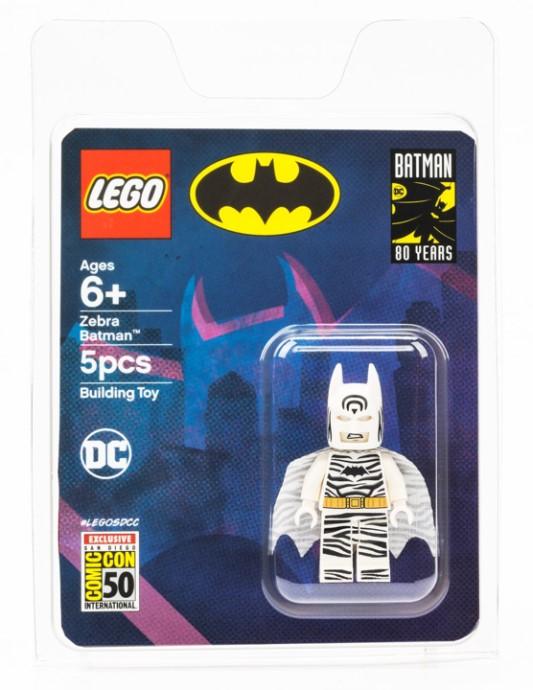 LEGO TWO FACE Batman Minifigure Minifig Figure 6864 NEW Orange 2014 DC Superhero