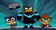 Unikitty's Friends as Batman Characters