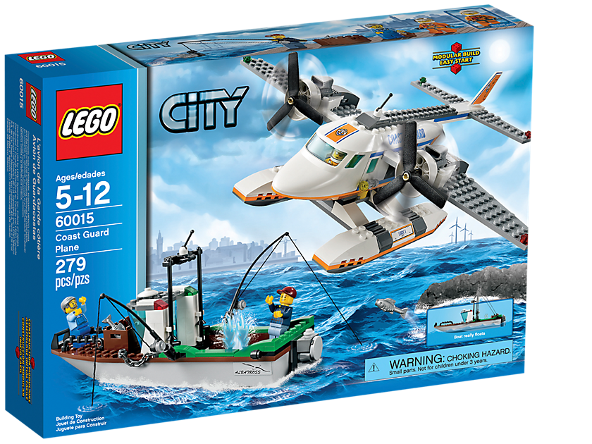 60015 Coast Guard Plane | Brickipedia | FANDOM powered by Wikia