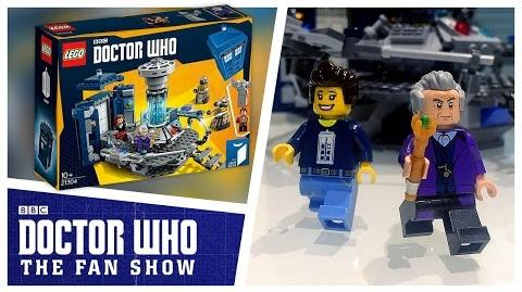 A Doctor Who LEGO Set Adventure! - Doctor Who The Fan Show