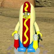 Homme hot-dog-Ninjago Film Jeu vidéo