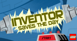 Inventor title screen