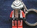 KC24 UFO Alien Key Chain