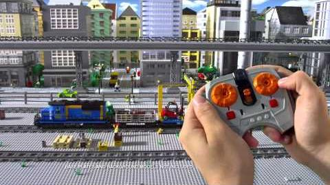 LEGO CITY Cargo Train 30s TVC