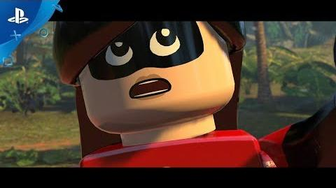 LEGO The Incredibles - Parr Family Vacation Trailer PS4