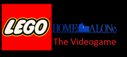 Lego Home Alone Logo