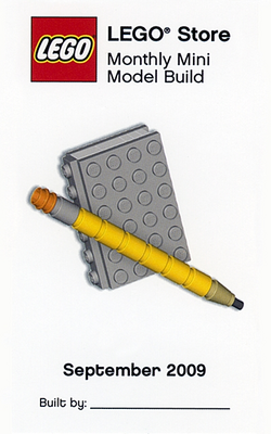 MMMB013 Book and Pencil