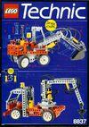 8837 Pneumatic Excavator
