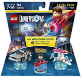 71201 Back to the Future Level Pack