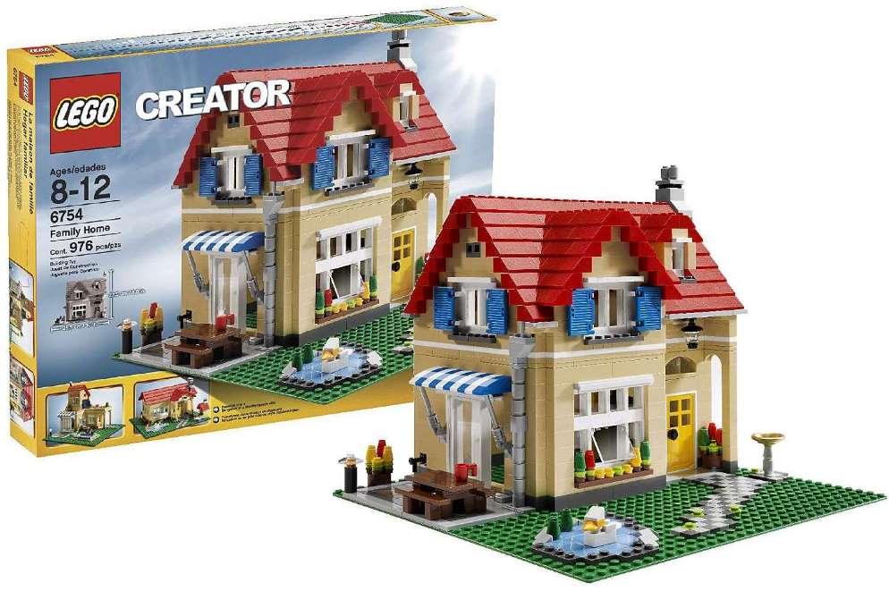 6754 Family Home Brickipedia Fandom Powered By Wikia
