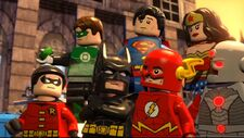 Ligue des Justiciers-Unité des super héros