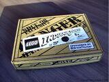 SDCC Indiana Jones Brickmaster 2008 Set