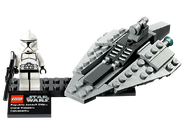 75007 Republic Assault Ship & Coruscant 2