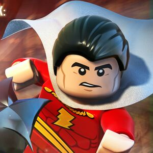 Lego DC Super Heroes Shazam Minifigure w// Hood /& Hair from 30623 76120 NEW.