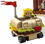 Krabby Patty Car