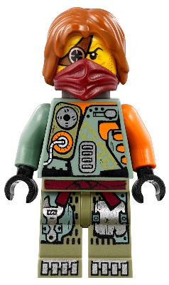 NINJAGO MINI FIGURE LEGO NINJAGO Frakjaw with Hat