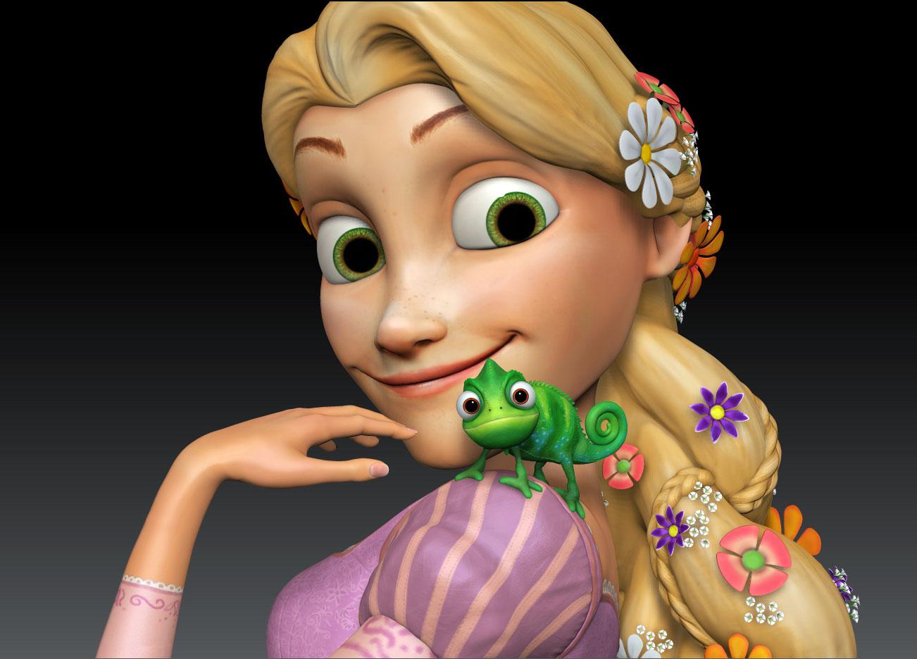 image rapunzel with pascal jpg brickipedia fandom powered by wikia